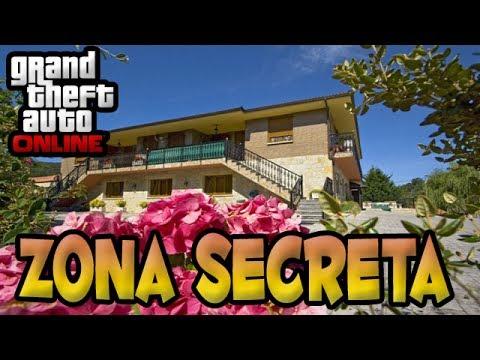 GTA V Onliine Zonas Secretas - Como entrar na Casa do Martin  Madrazo.