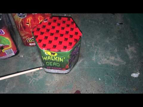 fireworks 200 gram cake walkin dead by blackcat