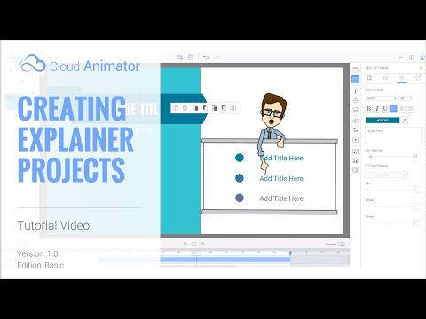 Cloud Animator v1.0 Tutorial - Quick Guide to Create Explainer Video