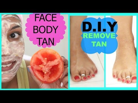 How To Remove Sun TAN From BODY,FACE FAST,SKIN Lightening Remedy Naturally