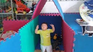 Đồ chơi trẻ em bé pin ngôi nhà bé xíu❤ PinPin TV ❤ Baby toys House tiny