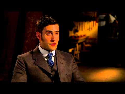 "Dracula (NBC): Oliver Jackson-Cohen ""Jonathan Harker"" Official TV Interview"