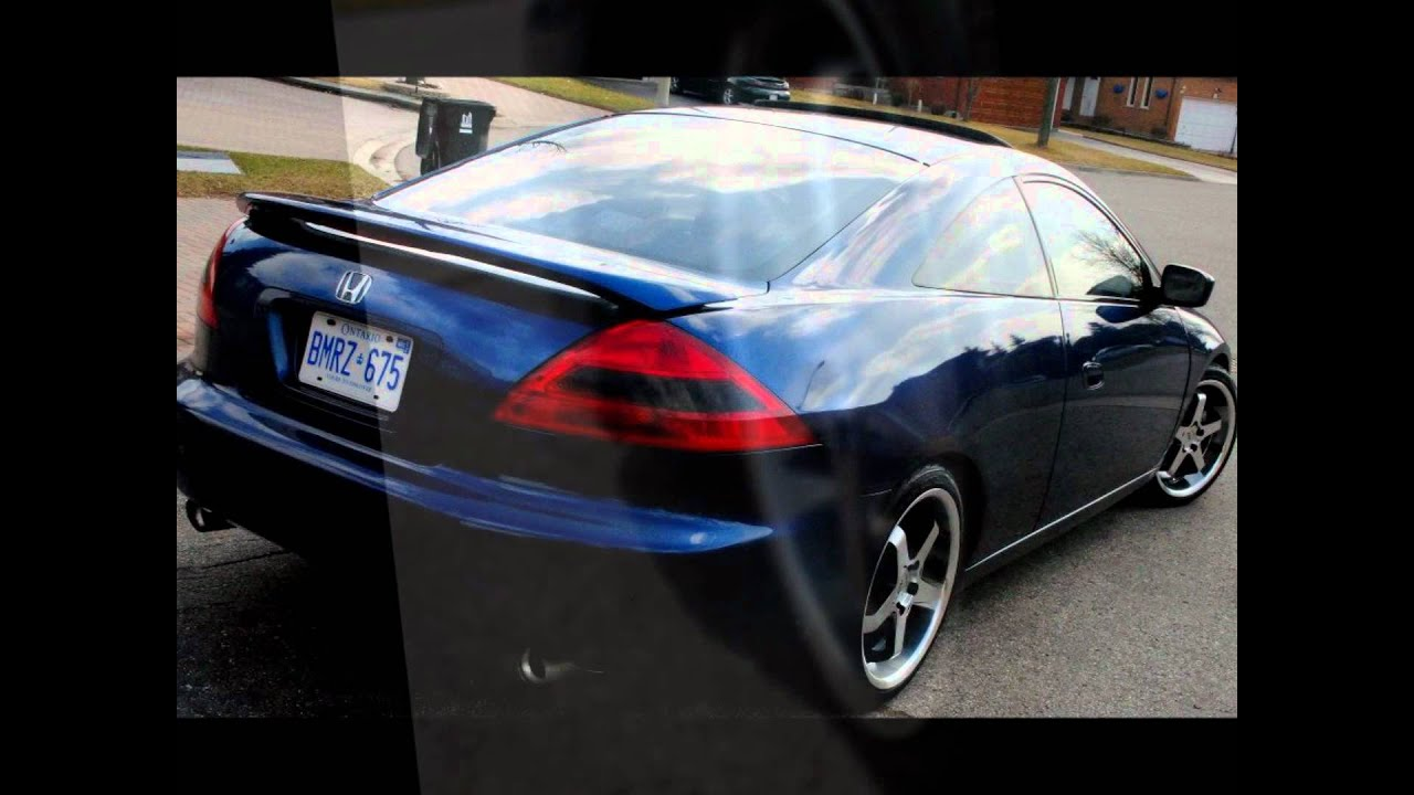 honda accord coupe youtube