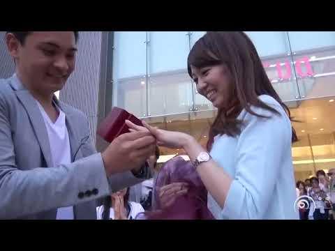 フラッシュモブ サプライズ プロポーズ Charice 「Louder」 JR大阪駅