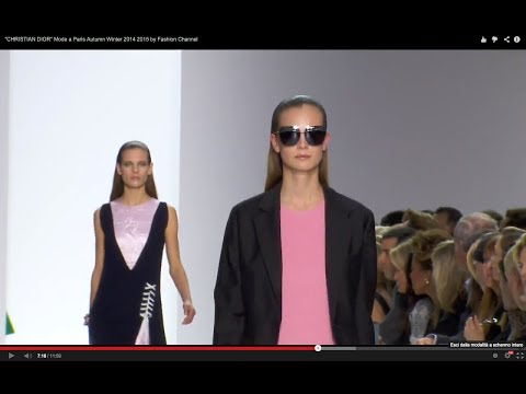 """CHRISTIAN DIOR"" Mode a Paris Autumn Winter 2014 2015 by Fashion Channel"