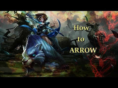 How to use Mirana's Arrow - Dota 2 Mirana Guide 2014