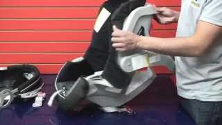 Graco SnugRide 30: Cleaning Car Seat Part 2