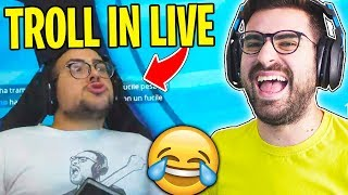 TROLLIAMO MATTEOHS IN LIVE SU FORTNITE!!