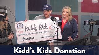 Aw Shucks Restaurant Donates to Kidd's Kids!