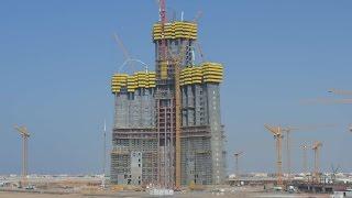 Kingdom Tower/Jeddah Tower - World's Tallest Building - 1Km+ Tower - 2016 UPDATE- برج جدة