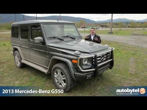2013 Mercedes-Benz G550 Test Drive & Luxury SUV Video Review