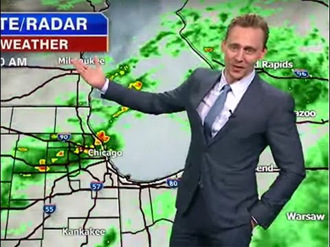 Watch As Tom Hiddleston Delivers The Weather As Loki advise