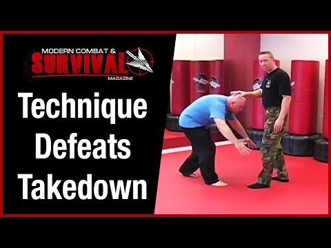 Grappling Moves- Technique Defeats Takedown Image 1