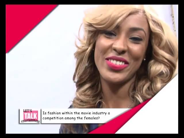 Let's Talk Entertainment - Nikki Samonas Describes Her Boobs