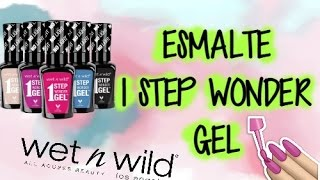 ESMALTE EN GEL - 1 STEP WONDER GEL ~ReviewsByAle~| Ale Pro Makeup96