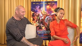 The Guardians Cast Did What Kind of Exercise On-Set?!?