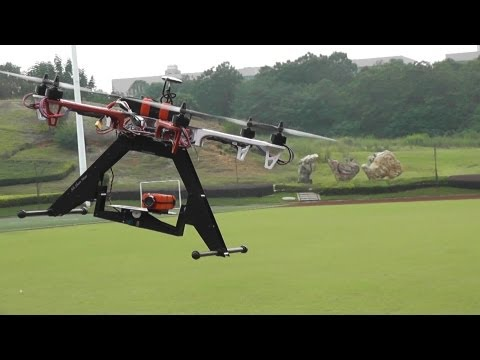 OFM550 Test flight with Phoenix Camera Gimbal