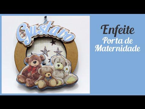 Enfeite Porta Maternidade Gustavo