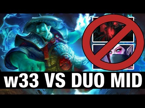 w33 VS DUO MID - Storm Spirit - Dota 2