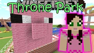 Minecraft: TRONE AMUSEMENT PARK (Custom Map) Part 1