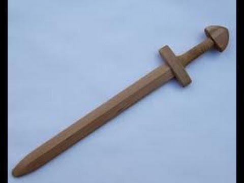 Как сделать меч