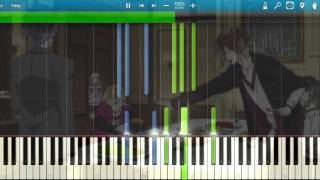 [Synthesia] Diabolik Lovers More Blood OST - Quiet Hours (Piano) [Diabolik Lovers]
