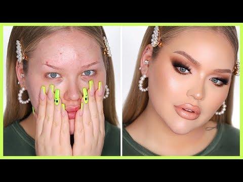 FULL FACE OF FLAWLESS In-Depth Makeup Tutorial | NikkieTutorials