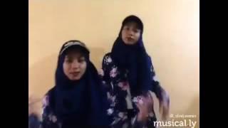 Dina and Dini Malaysian twins 🌸 MUSICAL.LY 🌸