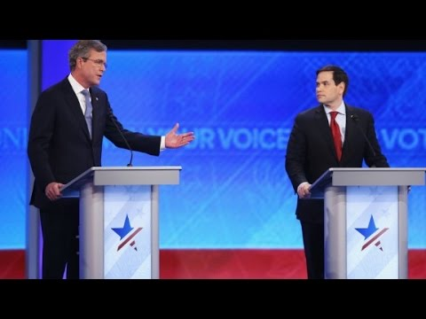 Rubio on running against one-time mentor Jeb Bush