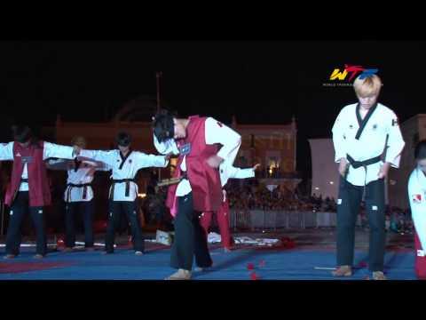 Wtf Taekwondo Demonstration | Oct 31, 2014   Aguascalientes, Mexico video