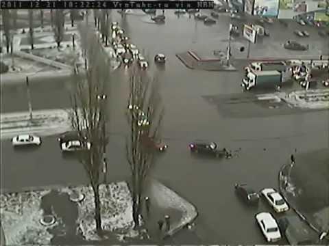 Авария в Воронеже 21.12.2011