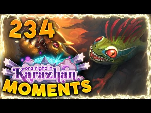 Hearthstone Karazhan Daily Funny and Lucky Moments Ep. 234 | So Lucky vs Cthun!!!