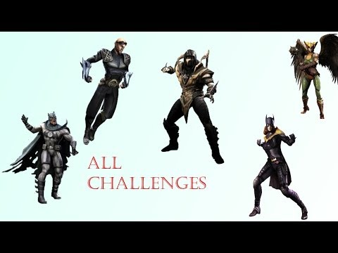 How To Unlock Previous/Future Challenge Characters in Injustice iOS ( No Jailbreak)