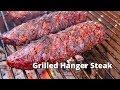 Grilled Hanger Steaks | Recipe for Grilling Hanger Steaks on Grilla Kong