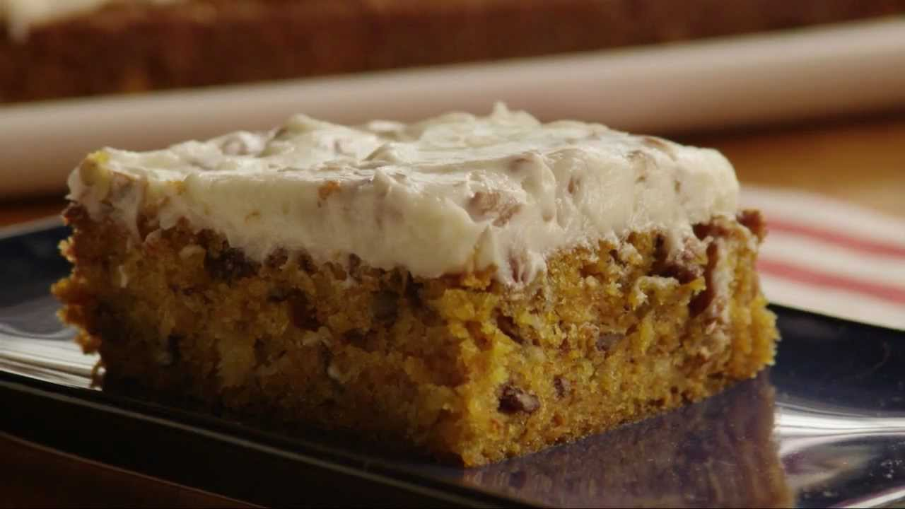How to Make Awesome Carrot Cake with Cream Cheese Frosting - YouTube