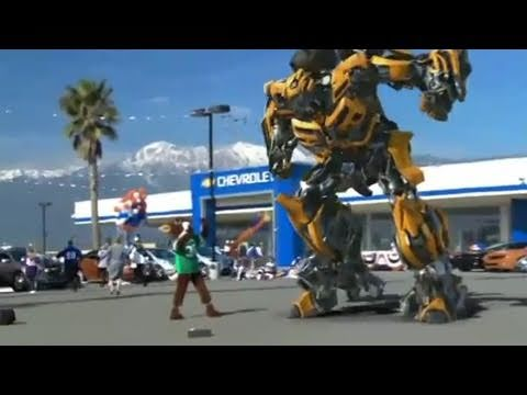 Bumble Bee Hits Back (Al s Chevrolet) - Super Bowl XLV Ad