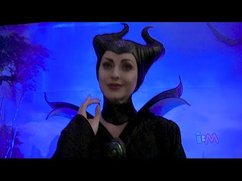 Angelina Jolie Maleficent appears at Walt Disney World for Rock Your Disney Side 24-hour event