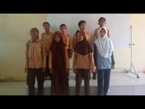 keren siswa bernyanyi MARS SMPN 12 PPU