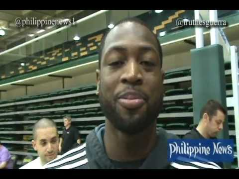 Dwyane Wade's Message for Filipino Fans