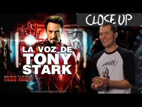 Close Up a IRON MAN3 / Idzi (actor de doblaje)