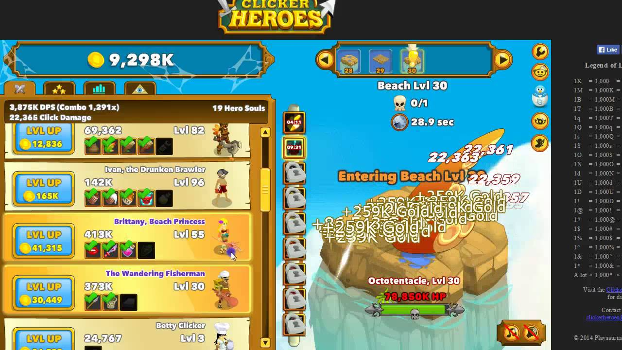 clicker heroes ancient souls guide
