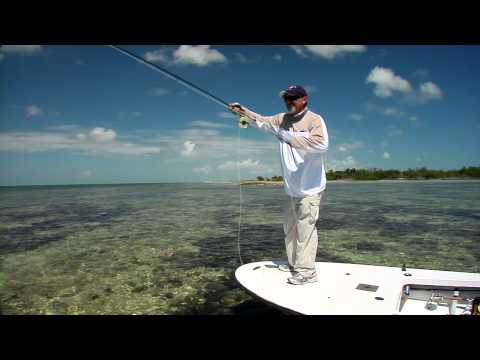 Fly Fishing for Game Fish in the Flats of the Florida Keys