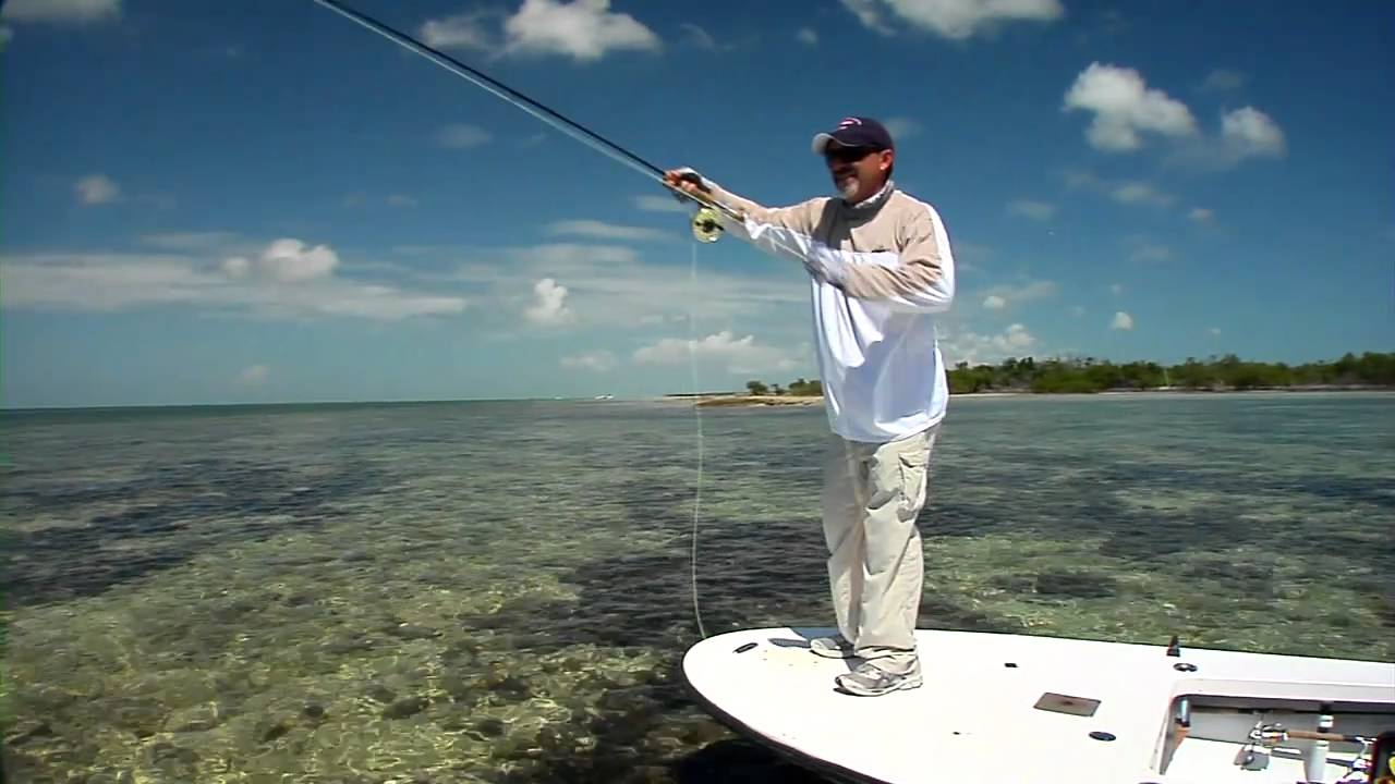 Fly fishing for game fish in the flats of the florida keys for Best time to go saltwater fishing