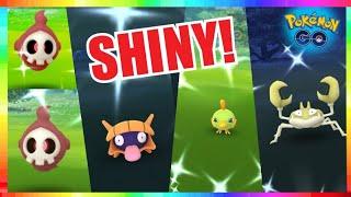 FASTEST SHINY FOUND LIVE! BEST NEW SHINY NESTS in Pokemon Go!
