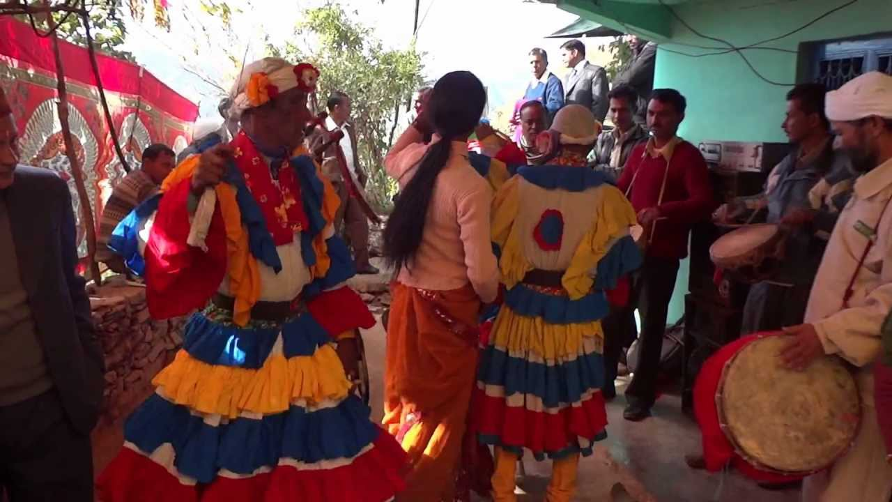 Uttarakhand Traditional Dance Traditional Chalia Dance from