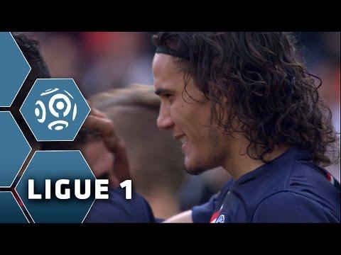Magnifique contrôle-frappe de CAVANI (57') / PSG - SC Bastia (2-0) -  (PSG - SCB) / 2014-15