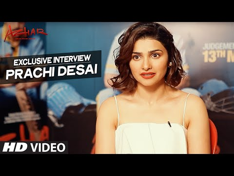 AZHAR : Prachi Desai Exclusive Interview | T-Series