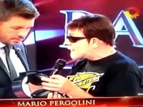 Mario Pergolini llegó al Bailando