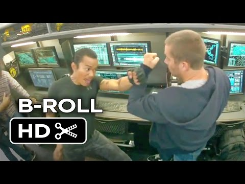 Furious 7 B-ROLL 2 (2015) - Paul Walker, Vin Diesel Action Movie HD