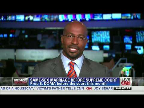 Van Jones: Marriage equality debate isn't right/left, it's right/wrong